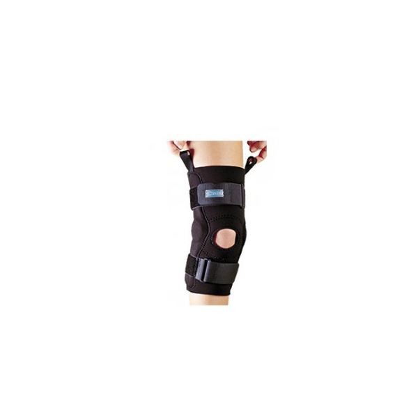 Axis-hinged-knee-sleeve