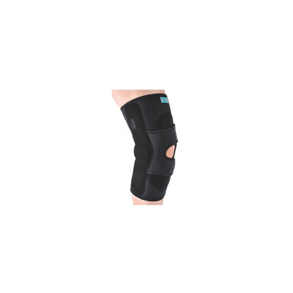 Hinged-lateral-J-patella-stabilizer